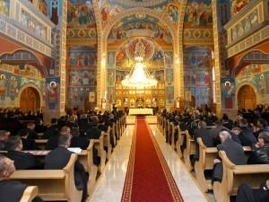 """La Negreşti, conferinţa preoţească s-a ţinut în superba biserică cu hramul """"Duminica Tuturor Sfinţilor"""""""