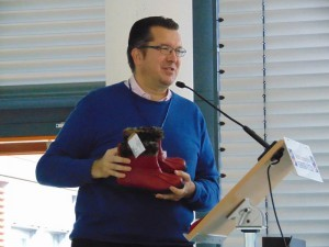 Dominicus H. Rohde,  încercând să strângă donaţii pentru  refugiaţii sirieni