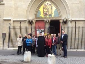 Francezii descopera catedrala mitropolitana