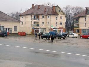 Centrul comunei Copalnic Mănăştur