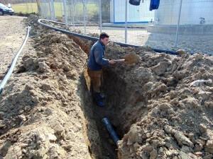 Lucrări la alimentarea cu apă potabilă