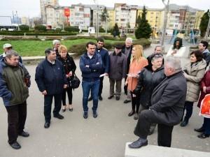 foto pag 3 Intalnire cu cetatenii din zona Garii