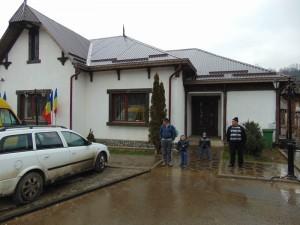 Sediul primăriei Budeşti