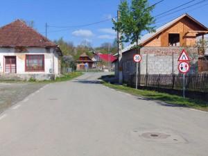 Stradă asfaltată în Dumbrăviţa