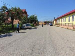 Centrul comunei Asuaju de Sus