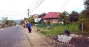 Stradă asfaltată în urma finalizării lucrărilor de canalizare