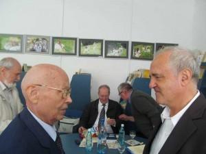 Preşedintele Academiei interesat de invenţiile  lui Ştefan Marinca