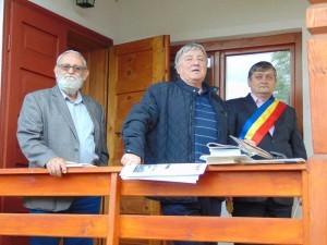 Ioan Moldovan, Gheorghe Pârja şi primarul Gheorghe Bohotici