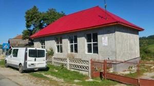 Şcoala din Berchez - în construcţie