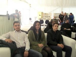 Tineri din Deseşti, la Festival: Andrei, Măriuţa şi Alex