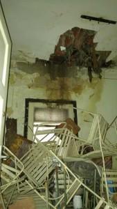 Incinta băii din clădire