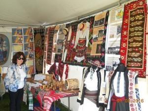 Expoziţia organizată de Societatea româno-canadiană din Alberta
