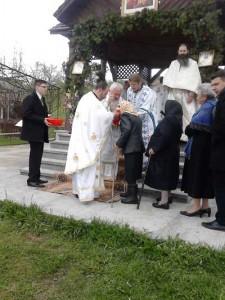 Mitropolitul Clujului în satul natal