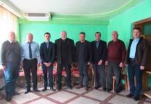 Delegaţia ucraineană alături de maramuşeni