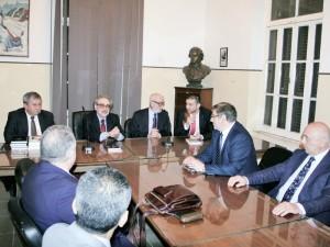 Întâlnirea cu prof. dr.  Alaa Abdel Hadi, preşedintele  Uniunii Scriitorilor din Republica Arabă Egipt