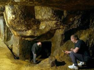 mineri in mina rosia montana
