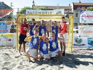 Ucraina -castigatori beach handball 7-9 Iulie