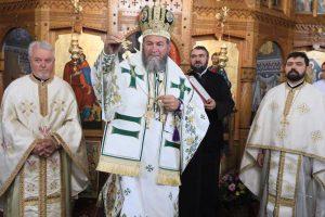 Preotul Grigore Andreica alături de PS Iustin