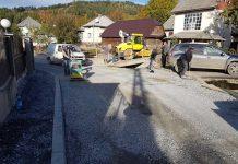 Lucrări de asfaltare pe străzile oraşului