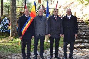 Primarul Vasile Coman, consulul Germaniei, E.S dl. Ralf Krautkrämer, prefectul Vasile Moldovan, Ambasadorul Germaniei în România, E.S dl. Cord Meier-Klodt