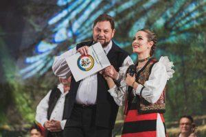Carmen Şteţco alături de Marius Ciprian Pop