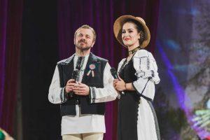 Carmen Şteţco, alături de Ionuţ Fulea
