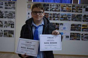 Suciu Bogdan, Locul I