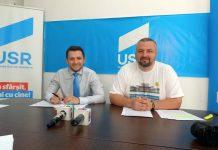 Vlad Duruş şi Dan Ivan - USRMaramureş