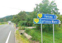 Unul dintre drumurile care vor fi asfaltate