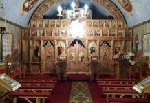 Iconostas Biserica Fericea - sursa Facebook Parohia Ortodoxa Fericea