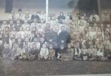 Elevii Şcolii Sălăjeni-Arad, în 1937