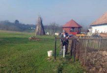 Vasile Orha din Tămăşeşti are apă de la reţeaua publică