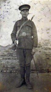 Teodor Pașca, militar