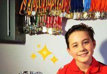 Răducu Oneţ - multiplu medaliat la înot