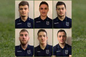 Alexandru Harasim, Darius Vulturar, Paul Popoaia, Alin Toma, Andrei Pricopie, Marius Ferariu