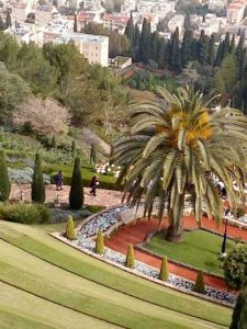 Grădinile Bahai din Haifa