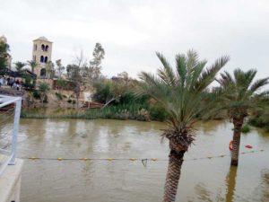 Râul Iordan, graniţă cu Iordania