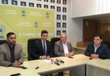 Cristian Niculescu-Ţâgârlaş, Ionel Bogdan, Felician Cerneştean şi Gavril Ropan