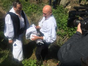 Vasile Hotea a fost spălat în Valea Dărasca