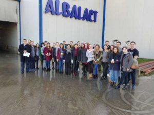 Vizita studenţilor la Albalact - Alba Iulia