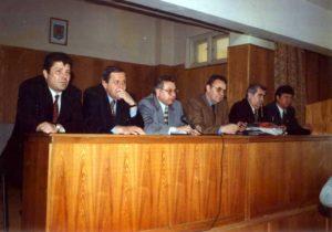 Alături de ministrul Andrei Marga, în cadrul vizitei sale în Baia Mare