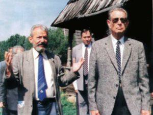 Cu Majestatea Sa, regele Mihai I, în Muzeul Satului Maramureșean