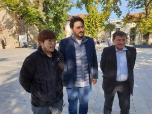 Shin Yechan, Dan Carpov şi Petru Dunca
