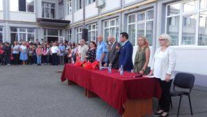 Deschiderea anului şcolar la Colegiul Naţional Vasile Lucaciu