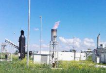 Staţia de biogaz produce 370 kW/h