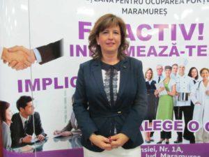 Oana Oșanu, directorul executiv al AJOFM Maramureș