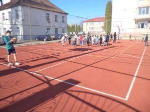 Noul teren de sport de la Moisil