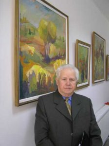 """Nicolae Pop și """"Peisajul de la Limpedea"""""""