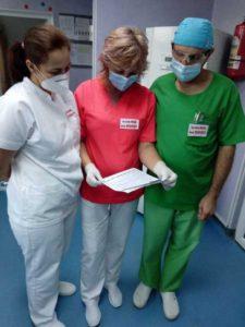 Personalul medical de la Spitalul Judeţean de Urgenţă Baia Mare