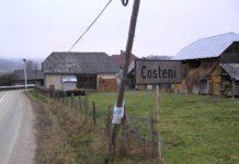 La intrarea în Costeni